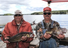 Government Docks in Red Lake are Walleye Central as  boats return with the day's catch